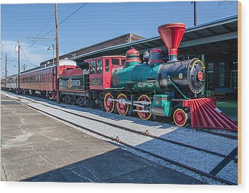 Wood Print featuring the photograph Chattanooga Choo Choo by Susan  McMenamin