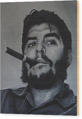 Che Guevara Wood Print