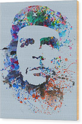 Che Wood Print by Naxart Studio