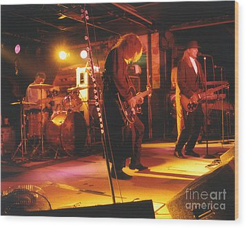 Cheap Trick-93-stage Wood Print by Gary Gingrich Galleries