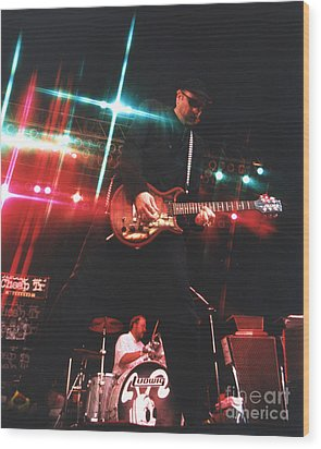 Cheap Trick-95-rick-3 Wood Print by Gary Gingrich Galleries