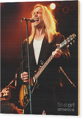 Cheap Trick-95-robin-2 Wood Print by Gary Gingrich Galleries