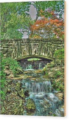 Cheekwood Bridge Wood Print by Zachary Cox