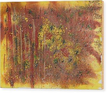 Cheerfull Spirit Wood Print