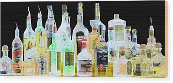 Wood Print featuring the photograph Cheers by Cheryl Del Toro