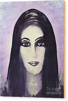 Cher Wood Print by Alys Caviness-Gober