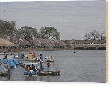 Cherry Blossoms - Washington Dc - 011327 Wood Print by DC Photographer
