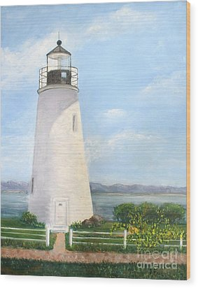Chesapeake Lighthouse Wood Print