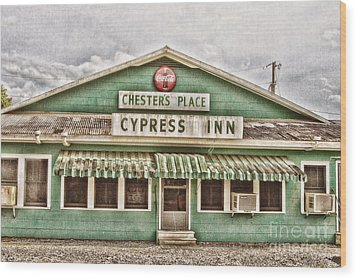 Chester's Place Wood Print by Scott Pellegrin