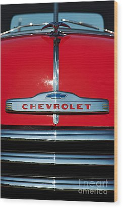 Chevrolet 3100 1953 Pickup Wood Print by Tim Gainey