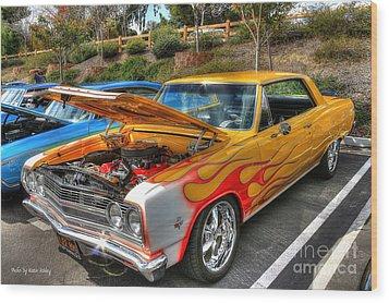 Chevrolet Malibu Ss Wood Print