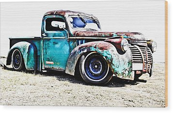 Chevrolet Pickup Wood Print by Phil 'motography' Clark
