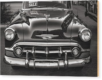Chevy For Sale Wood Print