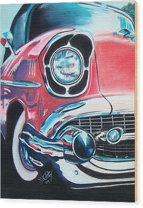 Chevy Style Wood Print