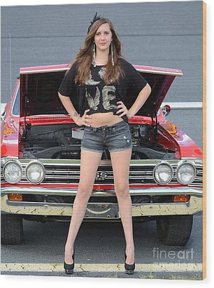 Chic Chevelle Wood Print by Mark Spearman