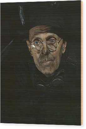Chicago Boilermaker 1942 Wood Print by Mountain Dreams