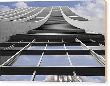Chicago - Chase Tower Wood Print by Christine Till