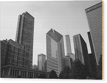 Chicago Skyscrapers Wood Print