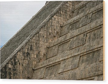 Wood Print featuring the photograph Chichen Itza by Silvia Bruno