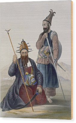 Chief Executioner And Assistant Of His Wood Print by James Rattray