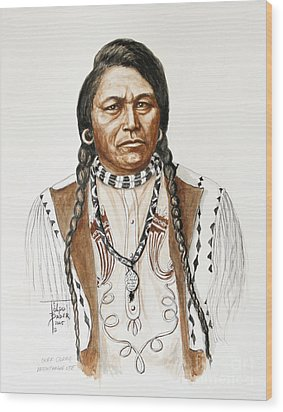 Chief Ouray Wood Print