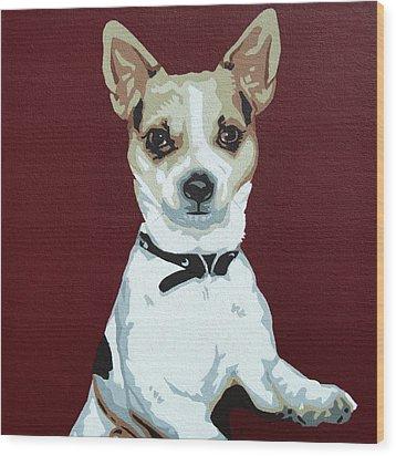 Chihuahua 2 Wood Print by Slade Roberts