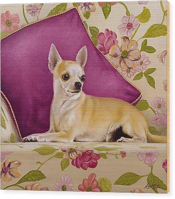 Chihuahua II Wood Print by John Silver