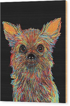 Chihuahua - Rose Wood Print by Bert Hornbeck