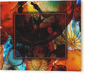 Chihuly Wood Print by David Blank