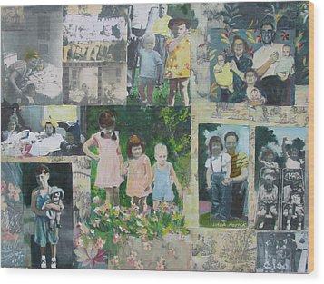 Childhood Joys Wood Print