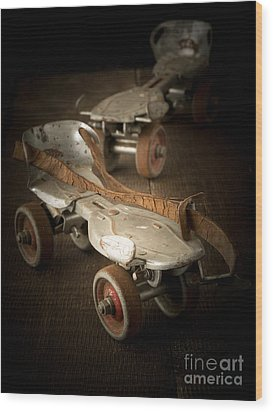 Childhood Memories Wood Print by Edward Fielding