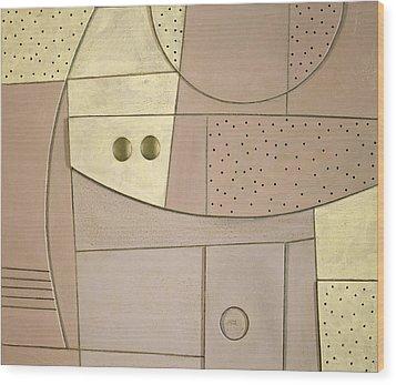Chilled Purple Haze Wood Print by Peter Hugo McClure