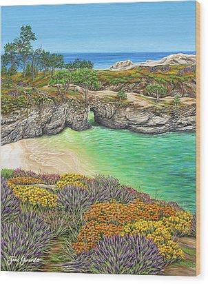 China Cove Paradise Wood Print
