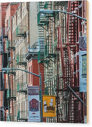 Wood Print featuring the photograph Chinatown by James Howe