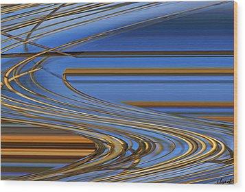 Chocolate Wood Print by Carol Lynch