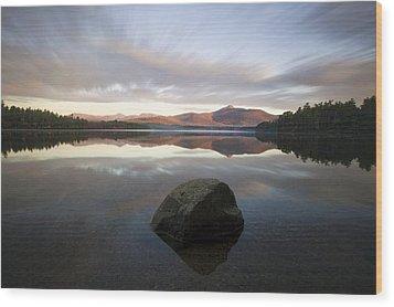 Chocorua Sunrise Wood Print