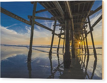 Wood Print featuring the photograph Chopsticks by Sean Foster