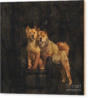 Chow Chow Wood Print