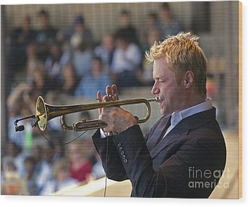 Chris Botti Wood Print by Craig Lovell