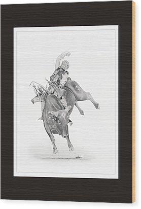 Chris Shivers  Wood Print by Don Medina