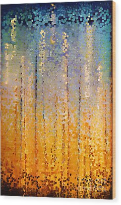 Christian Art- Everyone Who Calls. Romans 10 13 Wood Print by Mark Lawrence