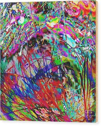 Christmas 2 Wood Print by Carol Lynch