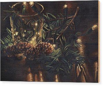 Christmas 2014 Wood Print