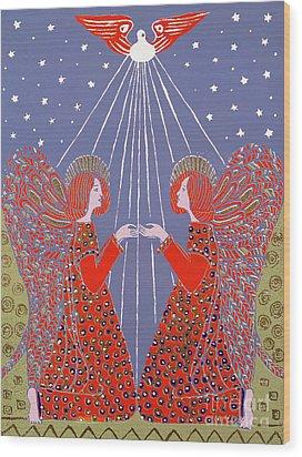 Christmas 77 Wood Print by Gillian Lawson