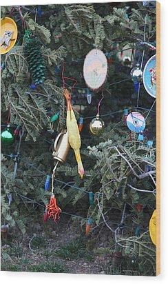 Christmas At U.s. Capitol - Washington Dc - 01132 Wood Print by DC Photographer
