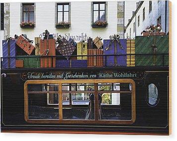 Christmas By Kathe Wohlfahrt  Wood Print by Joanna Madloch