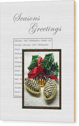 Christmas Decoration 2 Wood Print