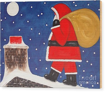 Christmas Eve Wood Print by Patrick J Murphy