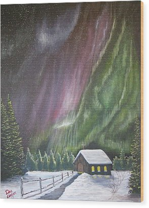 Christmas Glory  Wood Print by Dan Wagner
