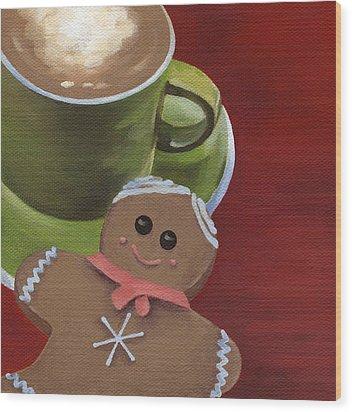 Christmas Morning Wood Print by Natasha Denger